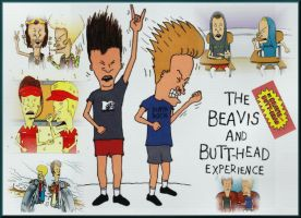 Beavis and Butthead by melw0874