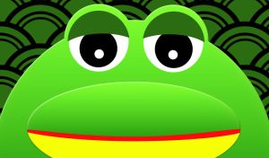 Frosch - Wallpaper by ligula