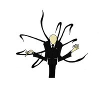 Slender Man: Flat Color by DigiZoo