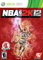 NBA 2K12: Kyrie Irving Cover by chronoxiong