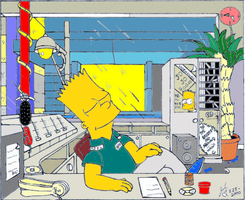 1999 Bart the DJ by simpspin