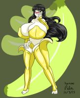 Rose Banana Lingerie Colored by Anubis2Pabon288