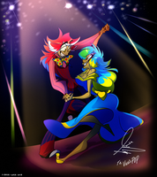 Gift: Jackie and Alanzo Dance by 7-Days-Luck