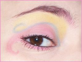 MLP Fluttershy Make-Up by CalamityJade