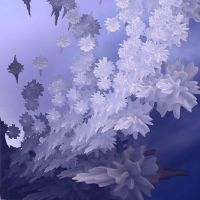 ice flowers by GLO-HE