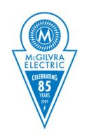 McGilvra Electric 85 year logo by brainstormdesign
