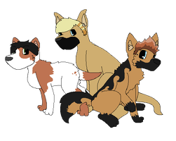Green Day Doggies :CO: by TurkFish