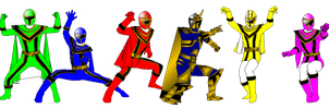 Mystic Force with Wild Force Pose for DerpMP6 by rangeranime