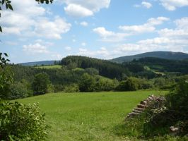 Hills and Forests STOCK by Chiron178