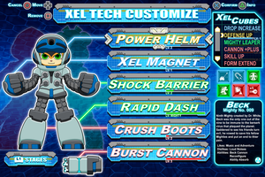 [Mighty No.9] Beck Customization mock-up by Availation