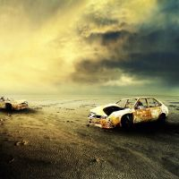 cars in hell by hendradarma28