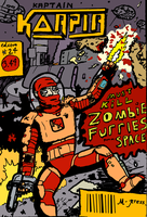 Must Kill Zombie Furries in Space! (colour) by Nerd-Rage