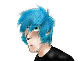 Whoa there you colorful emo by PowerlineArcade