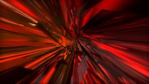 Red Abstract by ZzFOXzZ