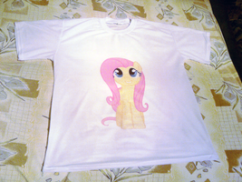 Fluttershy T-shirt by maZdaZilla