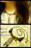 River Witch Necklace by JynxsBox