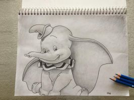 Dumbo Sktech by ImpartialX