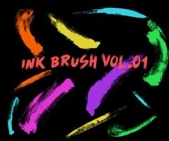 Ink brush vol.01 by BrunoFilipeT