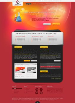ARKGRAFIK website v5 by arkgrafik