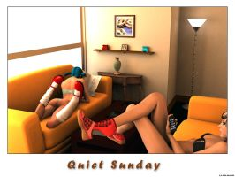 Quiet Sunday by akulla3D
