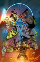 The Watchmen Colors by pyroglyphics1