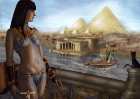 Ancient Egypt Dreams by CiLiNDr0