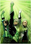 Green Lantern: AU by HTivey