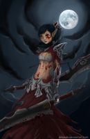 Huntress of blody thorn by dewade