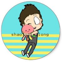 Austin and Squidgy sticker by shaolinfeilong