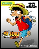 si Juki Luffy by FazaMeonk