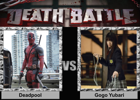 Deadpool vs. Gogo Yubari by Tito-Mosquito