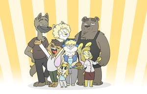 A little family get together by El-Zorrito