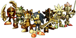 sonic and his knights by adnansonic