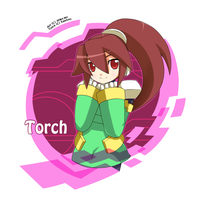 Torch-chan by Keichan411