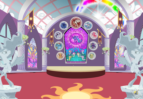 Canterlot Chapel by Cast2012