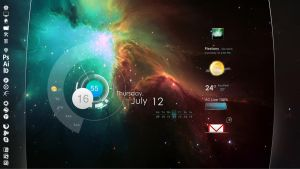 nebula_rainmeter by romcis
