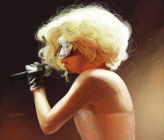 Gaga by Tvonn9