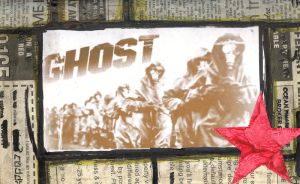 newspaper ghost by YouCannotFalter