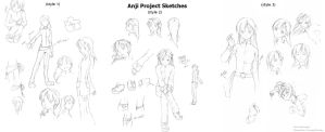 Anji Project Sketches by EpicMyst