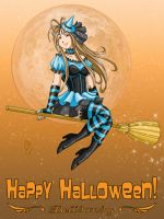 Halloween Belldandy by ArtistMeli