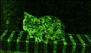 Electronica Cat by moondial