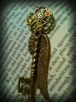 The Book-Keeper Fantasy Key by ArtByStarlaMoore