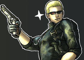 Art Trade: Wesker by Ghirik