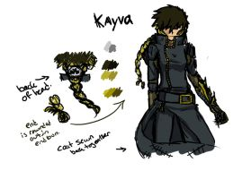 EnDeviant Hacker Kayva rough sketch by YouAskMeFirst2