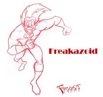 F is for Freakazoid by JoshawaFrost