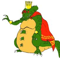 King Kraid Rool by Steffanic