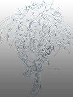 SYRUS the hedgebat by foxxesparty