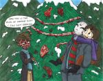 A Merry Slasher Christmas by thedarklordkeisha