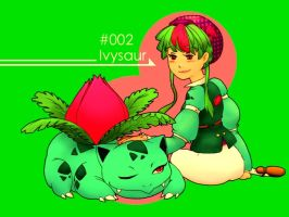 Pokemon+Trainer Challenge: 002 by chivalry-is-dead