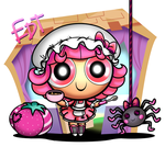PPG Lalaloopsy: Tuffet Miss Muffet by thweatted